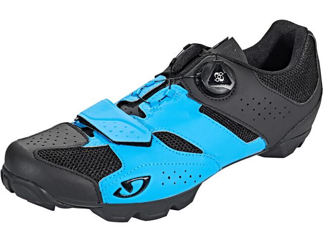 Giro Cylinder Shoes Herre blue/black